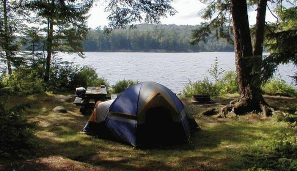 Forked Lake Campground