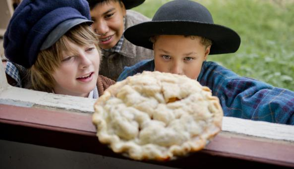 American apple pie and the Genesee Country Village & Museum