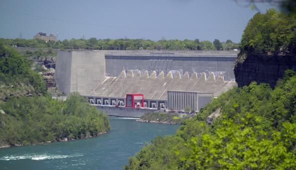 Dam at Power Authority