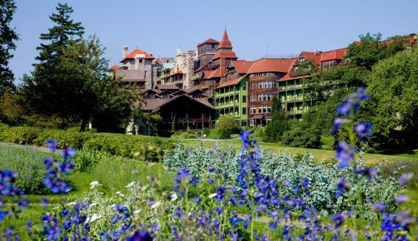 Gardens at Mohonk Mountain House: Photography by Jim Smith