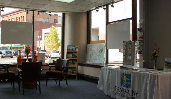 The Visitors Center at the Geneva Chamber of Commerce