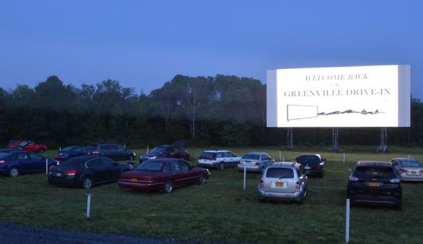 Greenville Drive-In - Photo Courtesy of Dwight Grimm of Greenville Drive-In