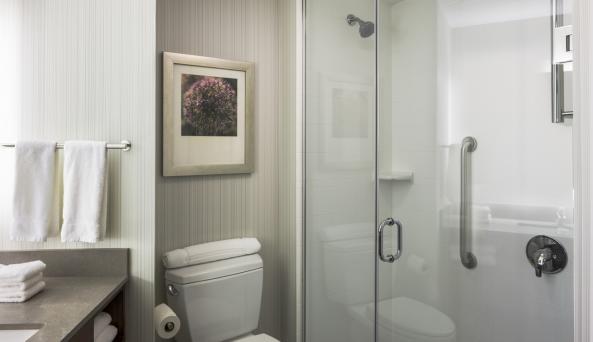 Hilton Garden Inn New York Long Island City/Manhattan View Guest Bath