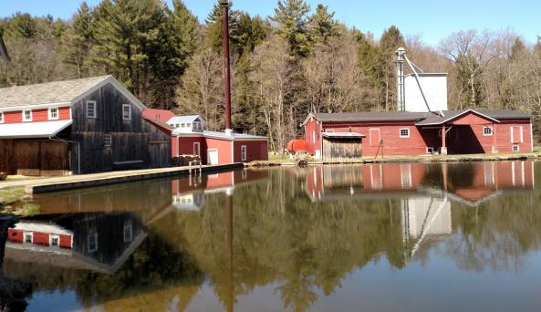Hanford Mills Museum is open May 15 - October 15.