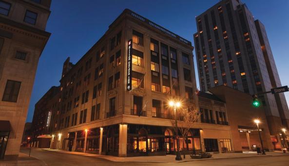 Exterior Hilton Garden Inn Rochester Downtown