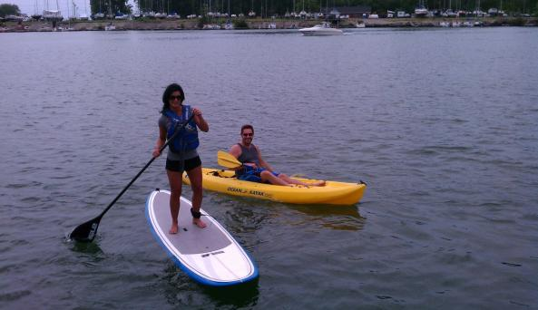 Kayak and SUP