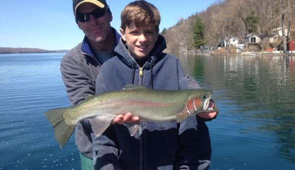 Spring Trout Fishing In Upstate New York