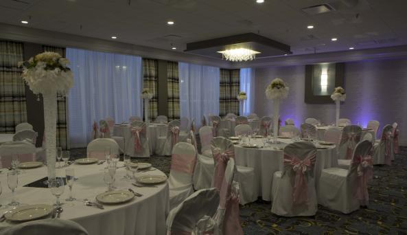 Ballroom at Holiday Inn Binghamton
