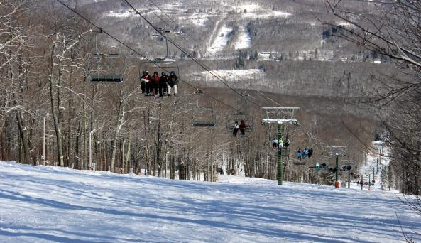 Belleayre Lodge Mountain Ski Lift