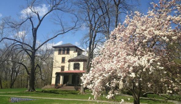 Locust Grove - Garden & House