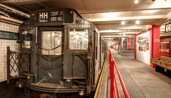 IND R1 'City Car' #100 (1930) on NYTM Platform