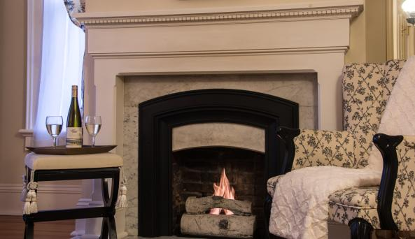 Clement Room Fireplace