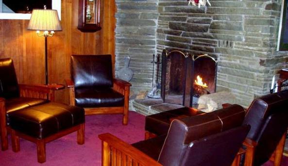 Inn the Woods - living room