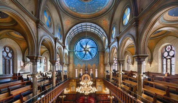 Eldridge Street Synagogue & Museum Exterior Photo by Peter Aaron