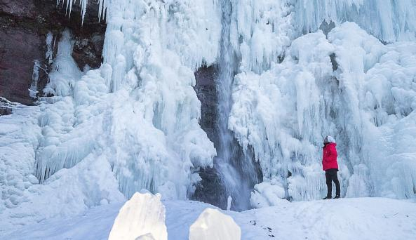 Kaaterskill Falls Winter