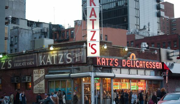Katzs Delicatessen _ Photo by Julienne Schaer - Courtesy of NYC & CO