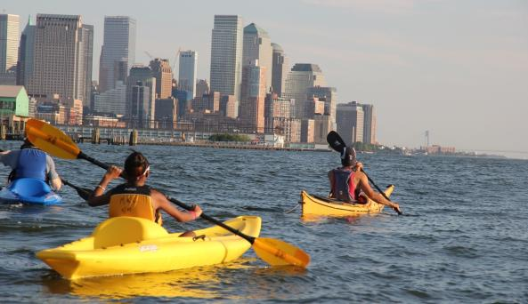 Manhattan Skyline Kayak Tour