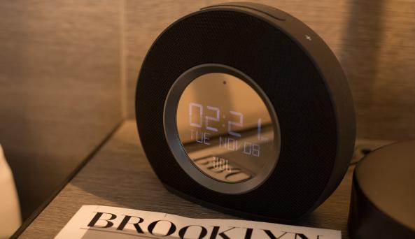 Look Hotel Alarm Clock
