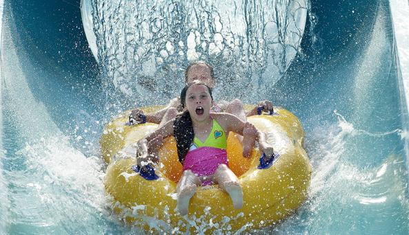 Great Escape and Splashwater Kingdom