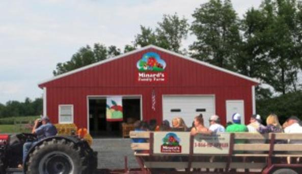Tractor Rides through 200 acres