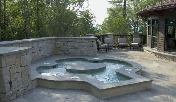 Mineral Pool at Mohonk Mountain House: Photography by Jim Smith