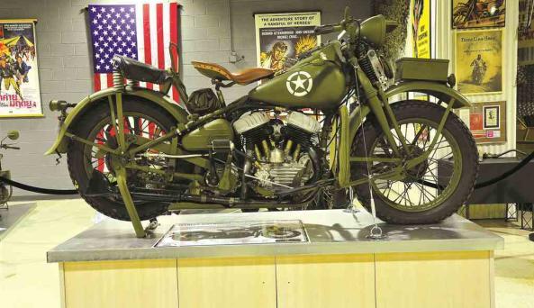 Motorcyclepedia Museum Exhibit
