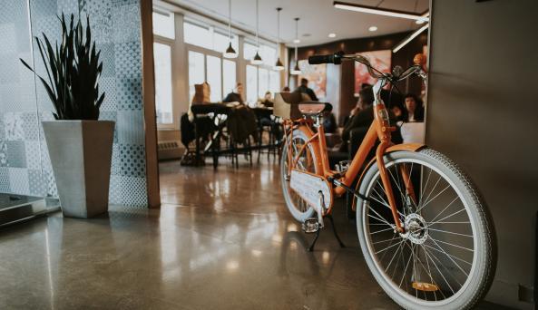 Bikes at NU Hotel
