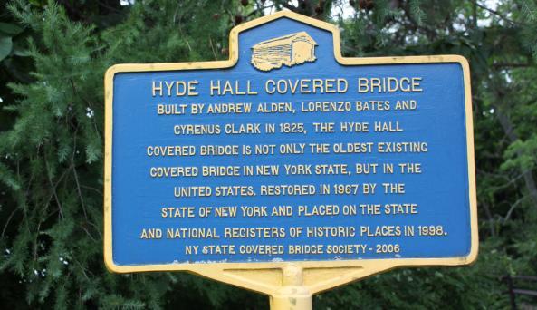 Hyde Hall Covered Bridge