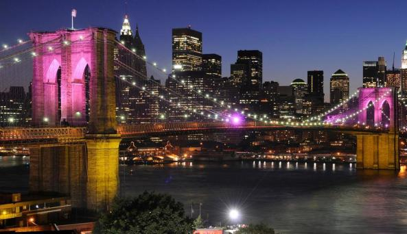 NYC, Dumbo, Brooklyn Bridge - Photo by Julienne Schaer
