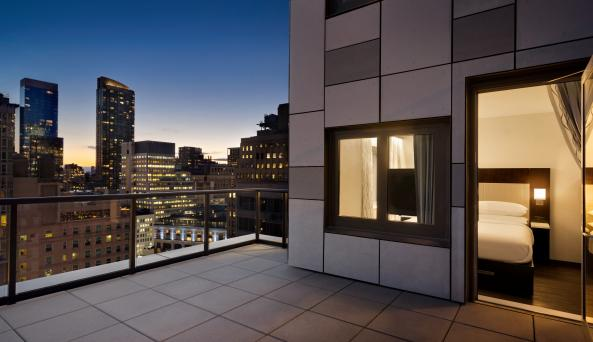 Sky Terrace Balcony