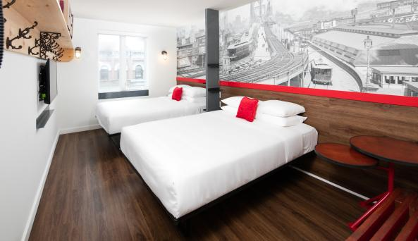 Two Double Bed Accommodations