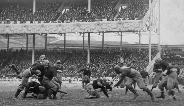 Army-Navy game at the Polo Grounds 2016