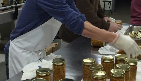 Preparing the family recipe