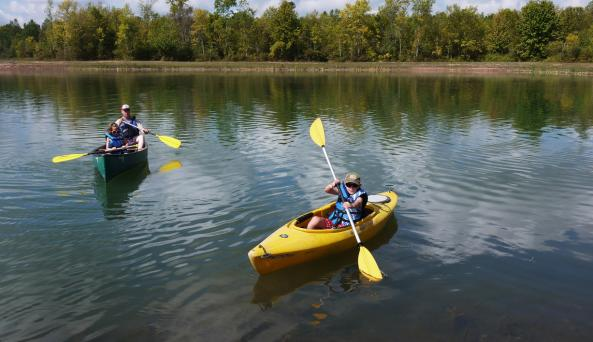 Branches of Niagara Campground canoe and kayak rental
