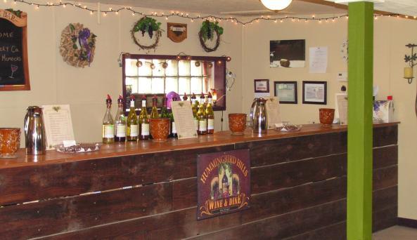 Hummingbird Hills Tasting Room