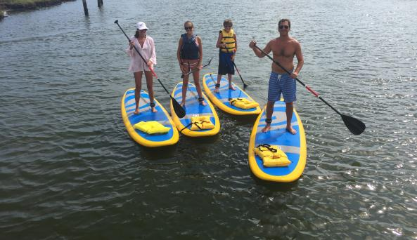 Stand Up Paddle Excursions