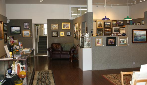 Pat Rini-Rohrer Gallery Interior