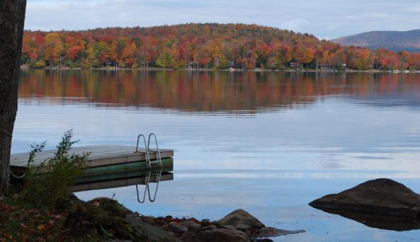 Peck's Lake Autumn