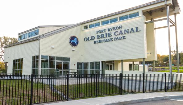 Erie Canal Heritage Park at Port Byron