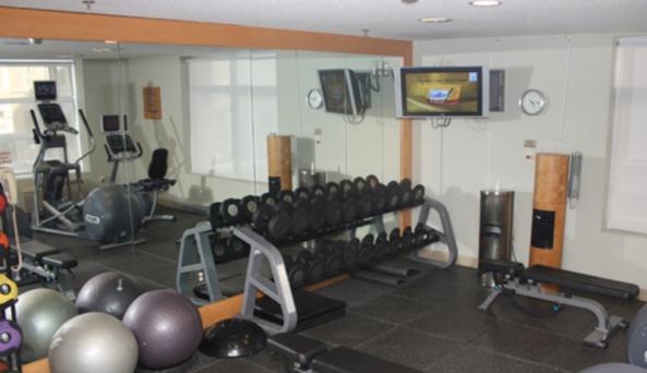 24-hour Precor Fitness Center