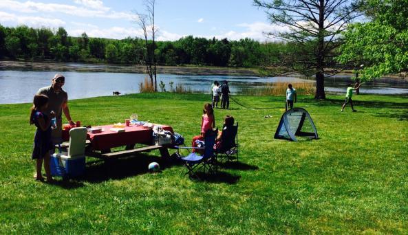 Rudd Pond - picnic