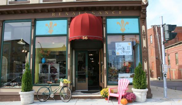 Renaissance/Goodie II Shoppe Exterior