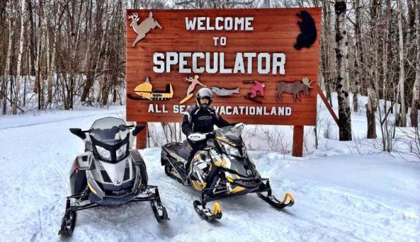 Speculator Snowmobile Trails