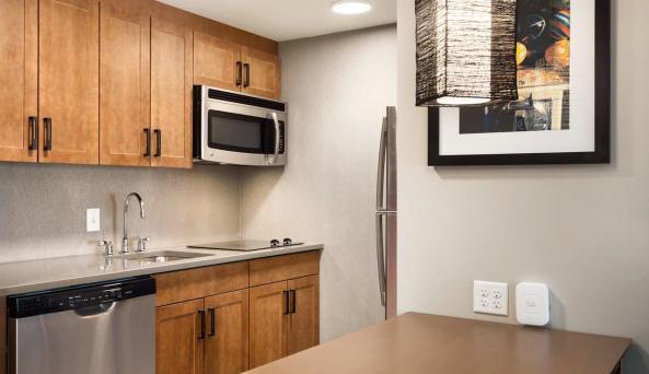 Homewood Suites Kitchen Area