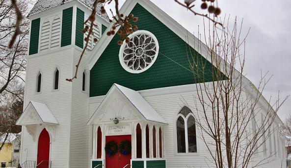 Saint Matthews Moravia Exterior