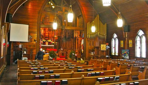 Saint Matthews Moravia Interior