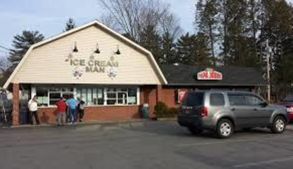 Saratoga Ice Cream Man