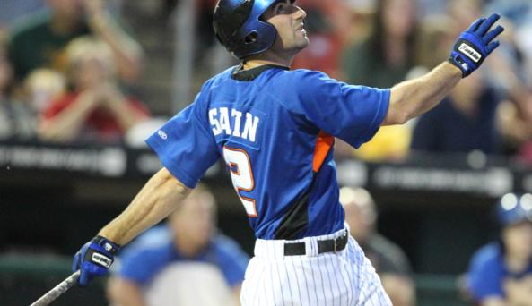 Bisons infielder Josh Satin is an upcoming star