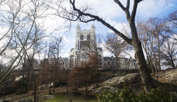 St Nicholas Park with view of City College_ Photo by Kate Glicksberg - Courtesy of NYC & CO