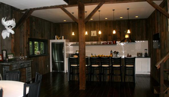 The Barn at Copake Lake - kitchen and Dining